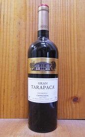 グラン タラパカ カルメネール 2017 ヴィーニャ サン ペドロ タラパカ 赤ワイン 辛口 ミディアムボディ 750ml チリ マイポヴァレーGran Tarapaca Carmenere [2017] Valle del Maipo