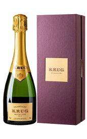 クリュッグ グラン キュヴェ ブリュット 白 泡 正規 箱付 ハーフ 375ml シャンパン シャンパーニュ