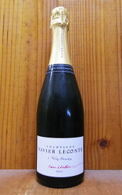 グサヴィエ ルコント シャンパーニュ クール ディストワール ブリュット 蔵出し限定品 ピノ ムニエ100% R.M.生産者元詰(オーナー アレクシ アナイス家元詰)XAVIER LECONTE Champagne Brut Coeur d'histoire R.M AOC Blanc de Noirs Champagne