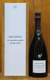 【豪華箱入】ボランジェ ラ グラン ダネ ロゼ ブリュット ミレジム 2012年 AOCミレジム シャンパーニュ ロゼ 正規代理店輸入品BOLLINGER Champagne La Grande Annee Rose 2012 AOC Rose Millesime Champagne