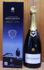 【007限定デザインボックス入】ボランジェ シャンパーニュ スペシャル キュヴェ ブリュット 007リミテッド エディション AOCシャンパーニュ 正規品BOLLINGER Champagne Special Cuvee Brut 007 Limited Edition AOC Champagne