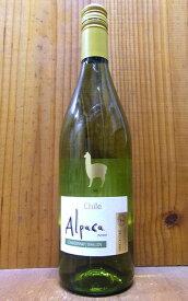 サンタ ヘレナ アルパカ シャルドネ セミヨン 2020 D.O セントラル ヴァレー 白ワイン 辛口 750mlSanta Helena Alpaca Chardonnay Semillon 2020 D.O Central Valley