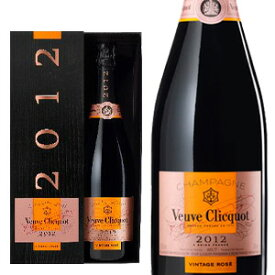 ヴーヴ クリコ (ヴーヴ・クリコ) (ヴーヴクリコ) (ブーブクリコ) ロゼ 2012 正規 箱付 750ml シャンパン シャンパーニュVeuve Clicquot Ponsardin vintage Rose Brut [2012] Gift Box