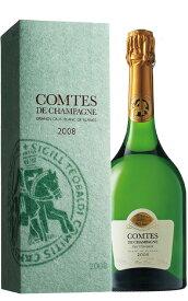 【豪華箱付】テタンジェ コント ド シャンパーニュ リミテッド エディション ブリュット ミレジム 2008年 蔵出し日本限定品 豪華越前和紙ギフト箱入 正規品TAITTINGER Comtes de Champagne Millesime 2008 Blanc de Blancs AOC Millesime Champagne gift box