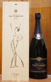 【大型ボトル 豪華木箱入】テタンジェ シャンパーニュ グラン クリュ 特級 ブリュット プレリュード マグナムサイズ(100%グラン クリュ)正規代理店輸入品TAITTINGER Champagne Grands Cru Brut Prelude MG AOC Champagne Grand Cru 1500ml Wooden Box