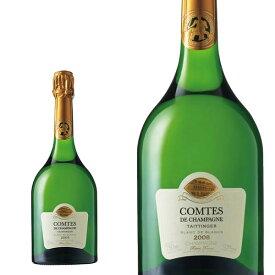 【テタンジェ社ロゴ入りボールペン付き】テタンジェ コント ド シャンパーニュ ブリュット ミレジム 2008年 蔵出し限定品(正規代理店輸入品)ブラン ド ブランTAITTINGER Comtes de Champagne Millesime 2008 Blanc de Blancs AOC Millesime Champagne