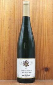 ヴェレナー ゾンネンウーア シュペートレーゼ 2003年 蔵出し秘蔵品 モイレンホフ(ミューレンホフ)元詰(ステファン ユステン家)18年熟成品 リースリング100% 白 モーゼル ドイツWehlener Sonnenuhr Spatlese 2003 Meulenhof