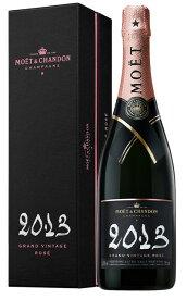 モエ エ シャンドン グラン ヴィンテージ ロゼ 2013 正規 箱付 750ml シャンパン シャンパーニュ誕生日 ギフト プレゼント 結婚祝 贈り物 結婚 お祝い 記念品