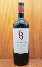 シックス エイト ナイン(689)セラーズ ナパ ヴァレー レッド 2019 アメリカ カリフォルニア ナパヴァレー 赤ワイン ワイン 辛口 フルボディ 750mlSix Eight Nine (689 Cellars) Napa Valley Red Wine 2019