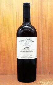 リヴザルト 1945 究極限定秘蔵古酒 ヴィラルジュイユ元詰 AOCリヴザルト ヴァン ド ナチュレ フランス 赤ワイン 甘口 750ml 76周年記念用ワインRIVESALTES 1945 Villargeil AOC RIVESALTES