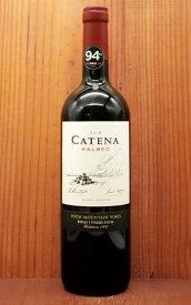 カテナ マルベック 2018年 ボデカス カテナ サパータ元詰 マルベック アルゼンチン 赤ワイン 正規品 750ml フルボディCatena Malbec 2018 Bodegas Catena Zapata