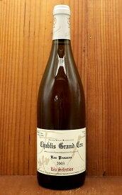 シャブリ グラン クリュ 特級 レ プルーズ 2003年 秘蔵特別輸入品 ルー デュモン レア セレクション AOCシャブリ グラン クリュ 17年熟成品Chablis Grand Cru Les Preuses 2003 Lou Dumont Lea Selection AOC Chablis Grand Cru