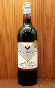 ヴィラ マリア プライベート ビン メルロー マルベック カベルネ ソーヴィニヨン 2019年 オーク樽熟成12ヶ月 ニュージーランド ホークスベイ地区 赤ワイン 750mlVILLA MARIA Private Bin Merlot Marbec Caber