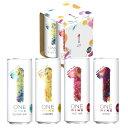 【送料無料】ONE WINE (ワン ワイン) 4缶アソートセット 白ワイン 赤ワイン ワインセット 缶ワイン フランス 250ml×4…