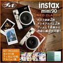 チェキ mini 90 本体 14種類から選べる チェキ フィルム 10枚 チェキ アルバム セット