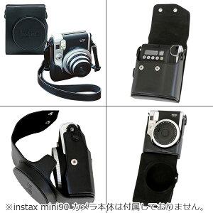 チェキinstaxmini90ネオクラシック本体&フィルム50枚&カメラバッグ(速写ケース)セット富士フイルム送料無料