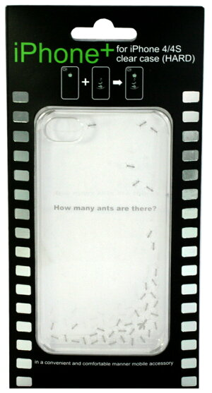iPhone4S/4用デザインクリアケース