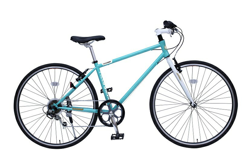 【送料無料】【受発注品】ミムゴ 700C シティサイクル 自転車 FIELD CHAMP CROSSBIKE700C6SE ライトブルー MG-FCX700CE