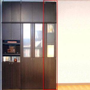 木製突っ張り式本棚