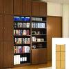 全面扉付き本棚商品画像