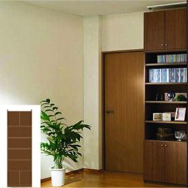 多目的収納 大容量書庫 ファイル本棚 G2 【オーダー収納】タオル 教科書などの収納に 組立家具 壁面収納 高さ265.1〜274.1cm幅60〜70cm奥行31cm 標準棚板(厚さ1.7cm)
