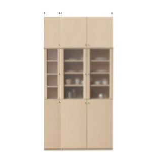 半透明扉隙間食器棚