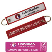 KoolKrewクールクルーキーチェーンハワイアン航空HawaiianAirlines(赤)REMOVEBEFOREFLIGHT世界の航空会社をセレクト!【送料無料】