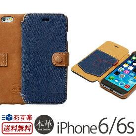 a46a62f607 iPhone6s / iPhone6 手帳型 デニム 本革 レザー ケース ZENUS Denim Vintage Pocket Diary iPhone6s  iPhoneケース アイフォン6 アイホン6 iPhone6ケース 手帳型ケース ...