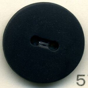 トップカラーナイロンボタン(マット) 2つ穴 ダークネイビー
