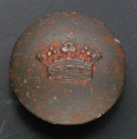 メタルボタン クラウン ラスティーアイロン