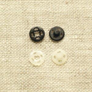 プラスチックホック スナップボタン プラスナップ 10mm 【5セット入り】