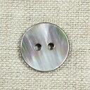 貝ボタン 二つ穴 黒蝶貝 シェルボタン