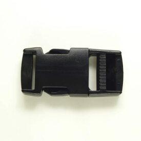 【ニフコ社製】 プラスチックパーツ 差し込みバックル 角型 25mm幅 【1個入り】