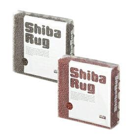 オリジナルマットデザインShibaRug(シバラグ・玄関マットサンドブラウン×4、レンガ×4)【koshin0601】fr