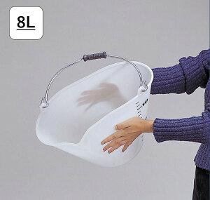 【8L】壊れにくい丈夫なバケツ|割れにくくておしゃれなプラスチック製バケツ