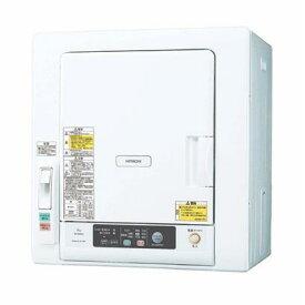 HITACHI 衣類乾燥機 DE-N60WV-W