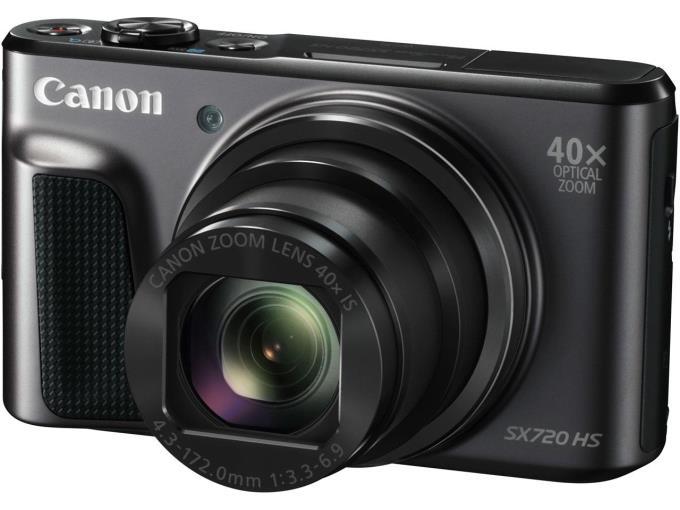 CANON デジタルカメラ PowerShot SX720 HS/BK [ブラック]
