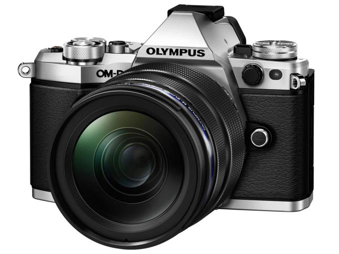 OLYMPUS デジタル一眼カメラ OM-D E-M5 Mark II 12-40mm F2.8 レンズキット [シルバー]
