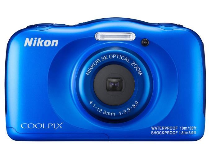 NIKON デジタルカメラ COOLPIX W100/BL [ブルー]