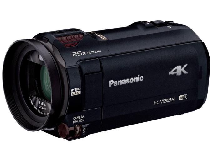 Panasonic ビデオカメラ HC-VX985M-K [ブラック]