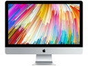 APPLE Mac デスクトップ iMac Retina 5Kディスプレイモデル MNE92J/A [3400]