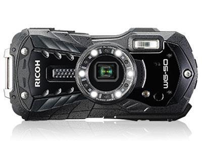RICOH デジタルカメラ WG-50/BK [ブラック]