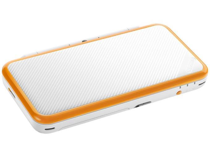 NINTENDO ゲーム機本体(ポータブル) Newニンテンドー2DS LL [ホワイト×オレンジ]
