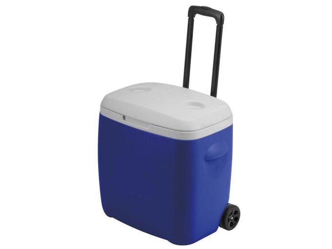 パール金属 クーラーボックス リガード ホイールクーラー28L M-5281 [ブルー]
