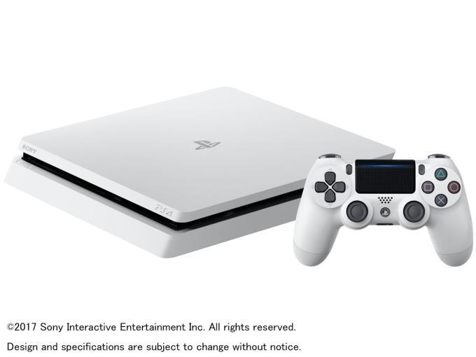 SONY ゲーム機本体(据置型)プレイステーション4 HDD 500GB グレイシャー・ホワイト CUH-2100AB02