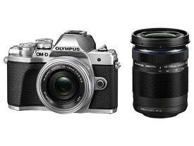 OLYMPUS デジタル一眼カメラ OM-D E-M10 Mark III EZ WZ KIT SLV [シルバー]