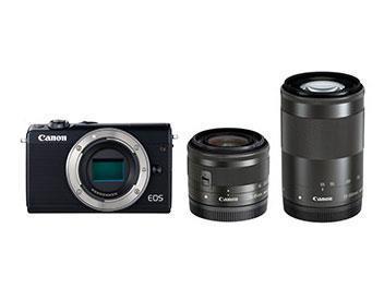 CANON デジタル一眼カメラ EOS M100 W ZOOM KIT/BK