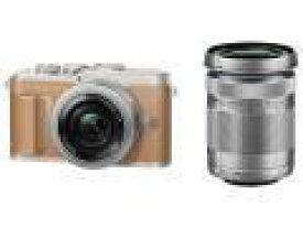 OLYMPUS デジタル一眼カメラ E-PL9 EZダブルズームキット/BR[ブラウン]