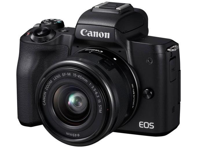 CANON デジタル一眼カメラ EOS Kiss M EF-M15-45 IS STM BK レンズキット [ブラック+C14]