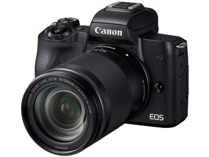 CANON デジタル一眼カメラ EOS Kiss M EF-M18-150 IS STM BK レンズキット [ブラック]